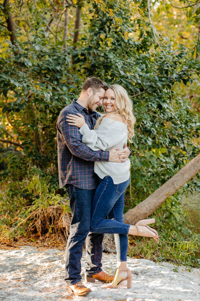 sultry engagement photos