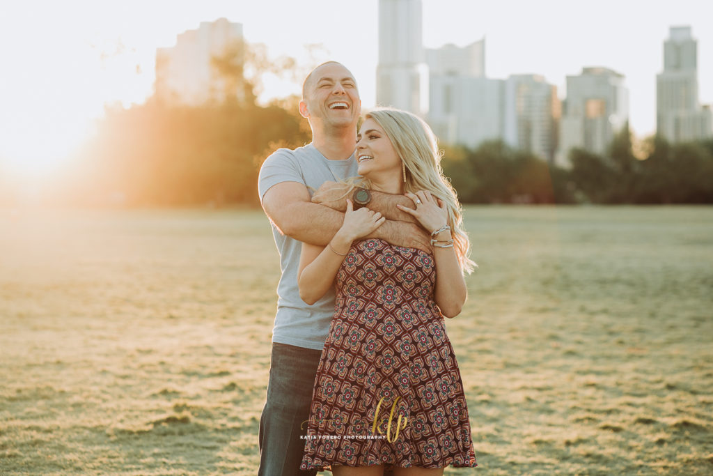 engagement sessions in the park