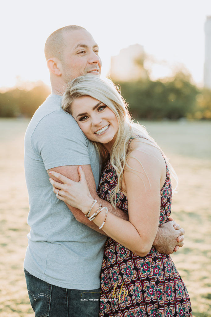 romantic sunrise engagement sessions