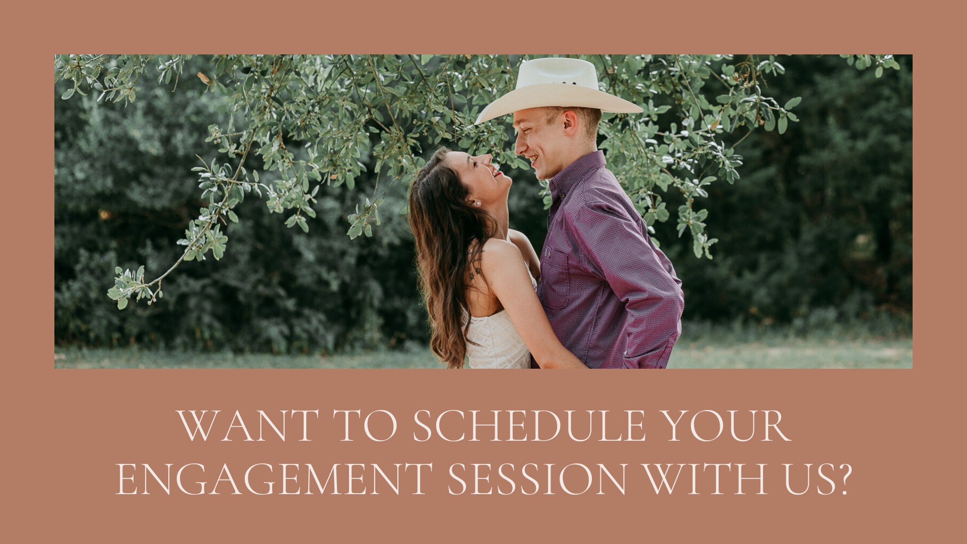 want to schedule an engagement session