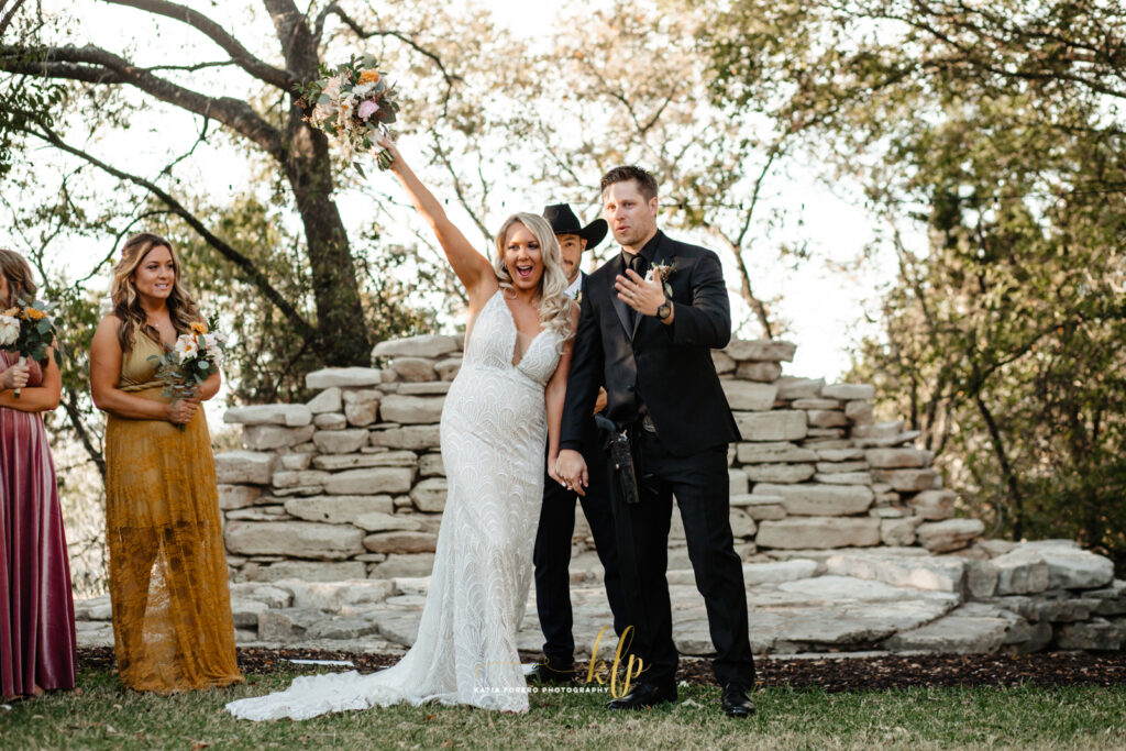 house on the hill wedding