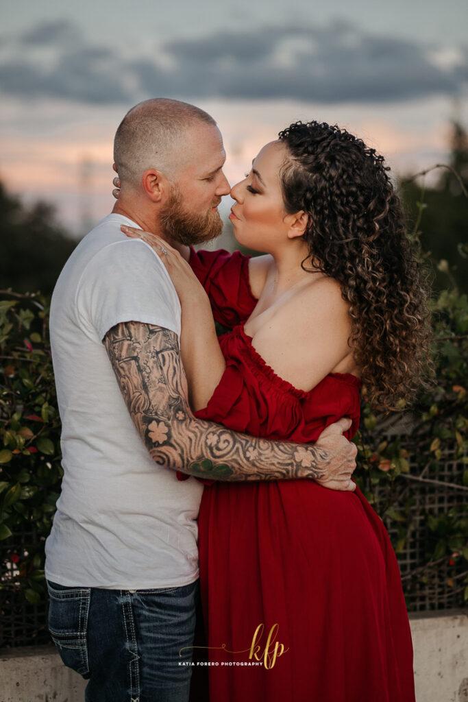 austin romantic engagement photography